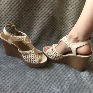 Shoes - crochet wedges